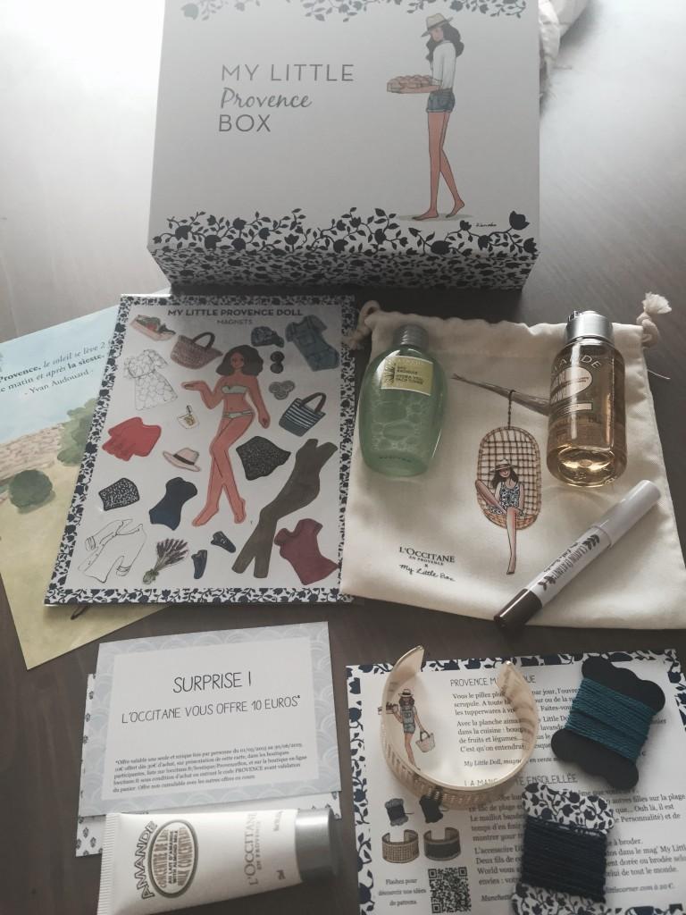 Déballage_my_little_provence_box
