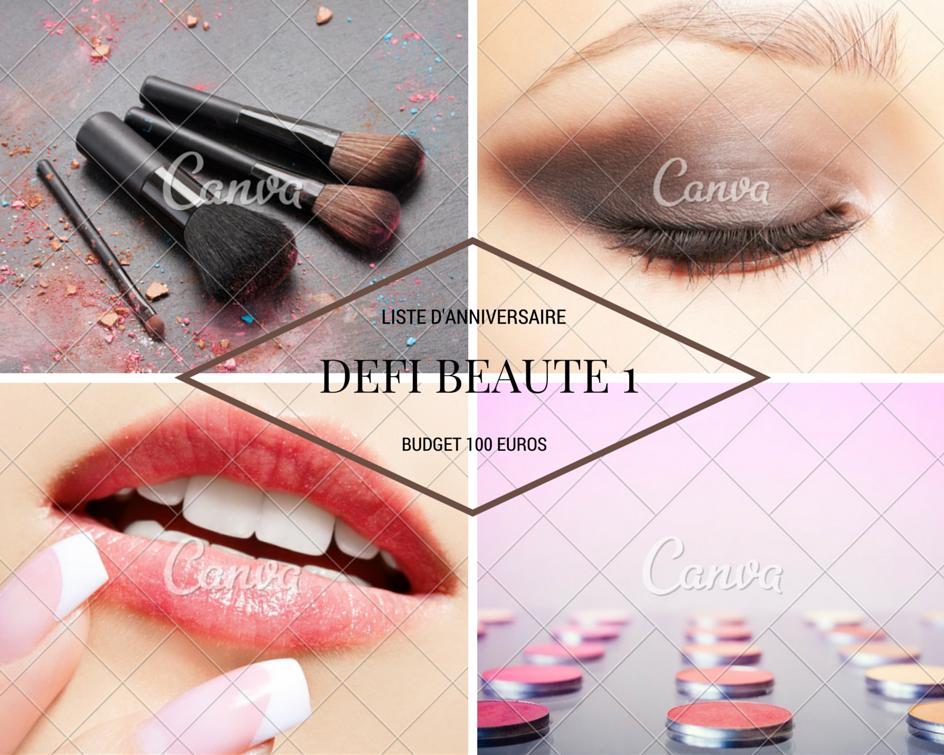 Défi beauté 1