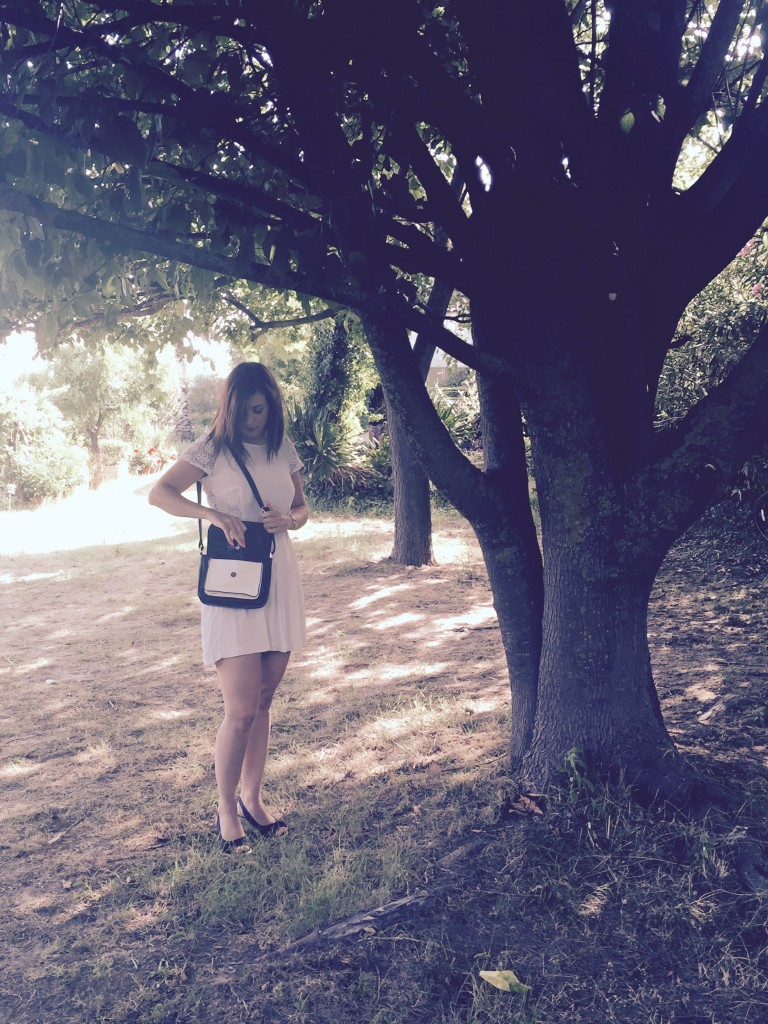 Robe blanche arbre entier