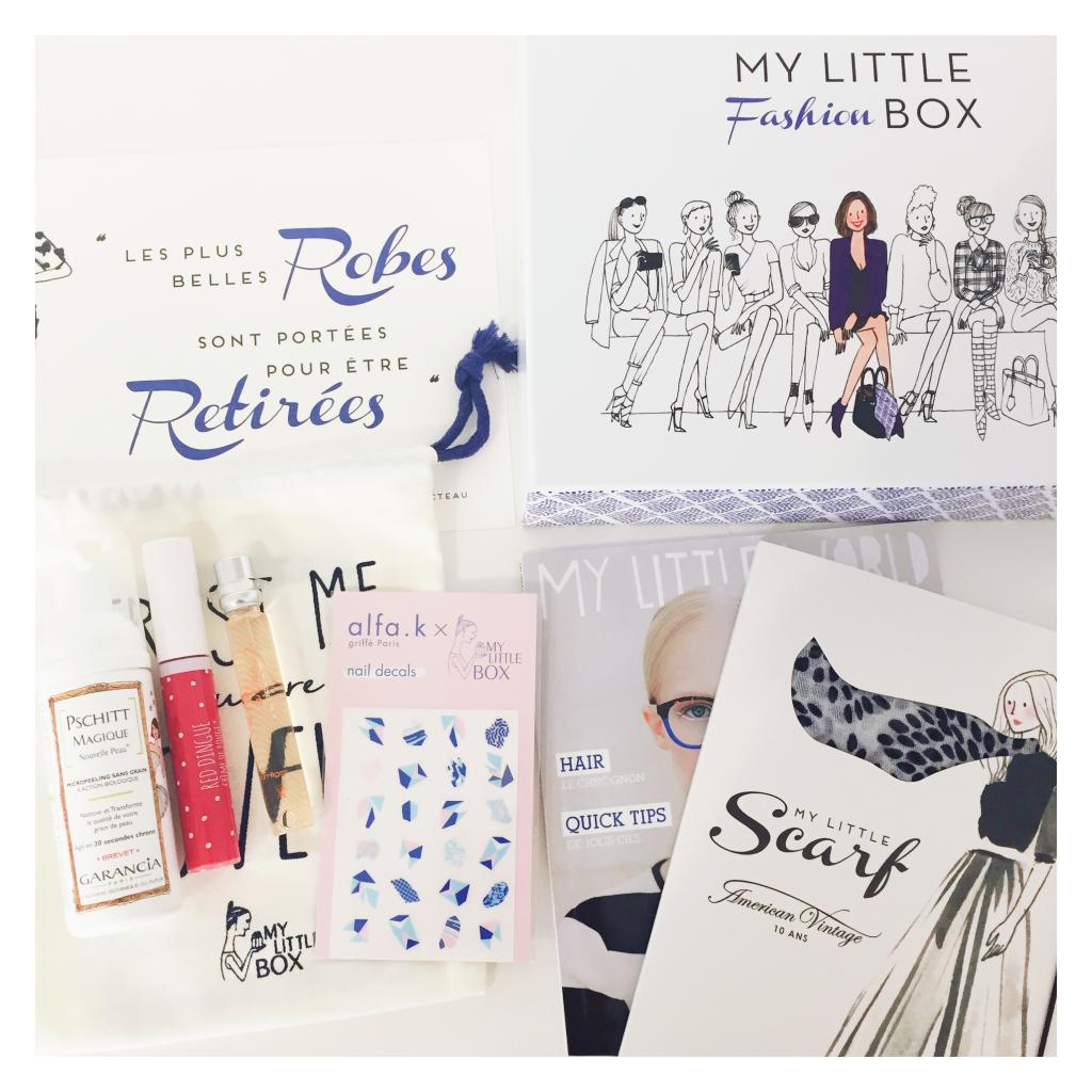 Fashion box - contenu