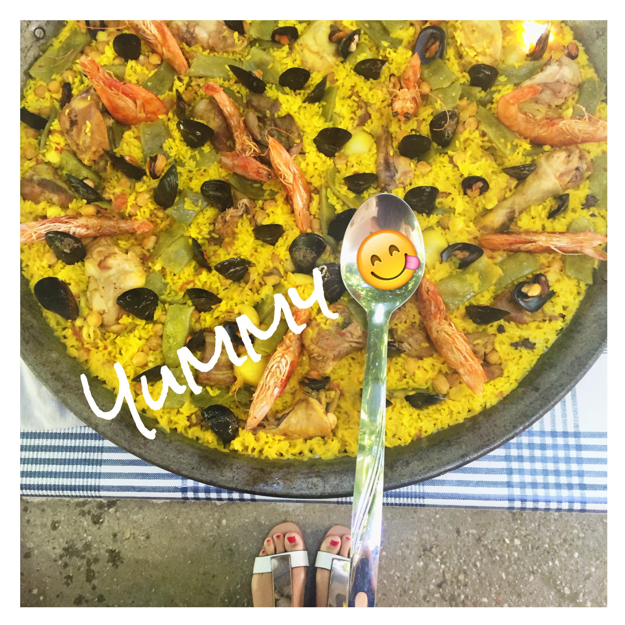 La VRAI paella – yummy