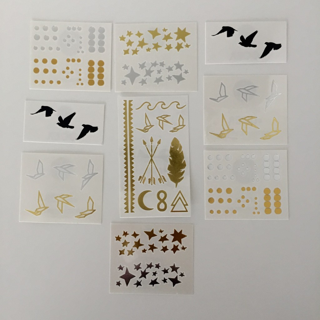 Tatouages éphémères - tattoo
