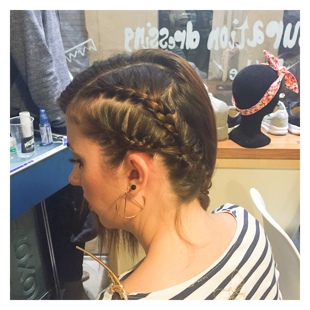 Dressing fille - coiffure