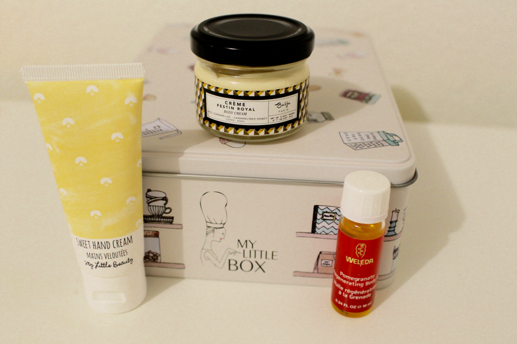 Sweet Box - les produits