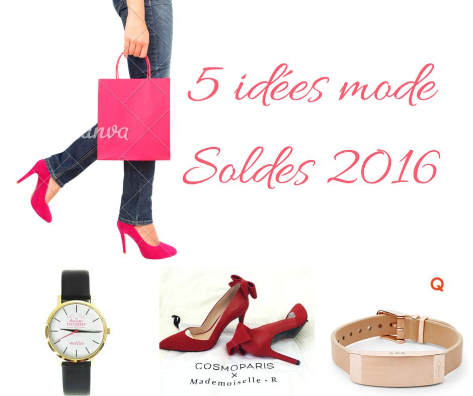 5 id es mode pour les soldes 2016 mademoiselle e. Black Bedroom Furniture Sets. Home Design Ideas