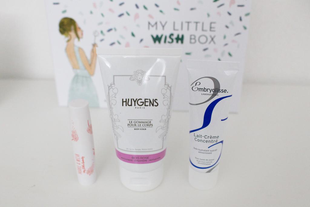 Wish box - produits