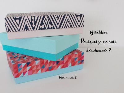 birchbox - présentation
