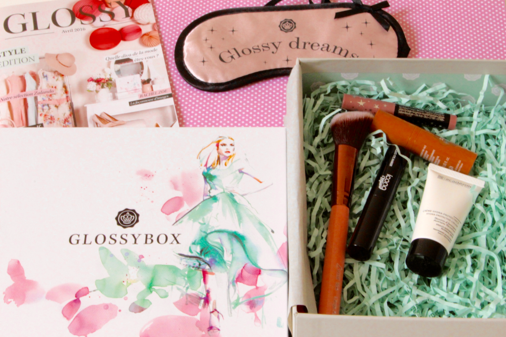 glossybox d'avril contenu_mademoiselle-e