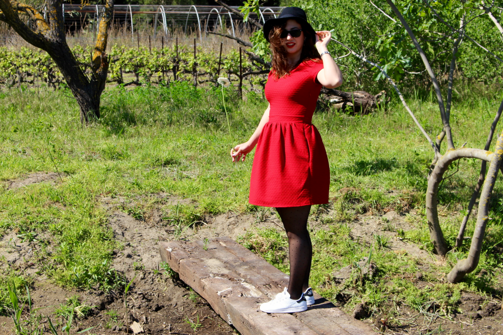 rouge et stan smith look_mademoiselle_e