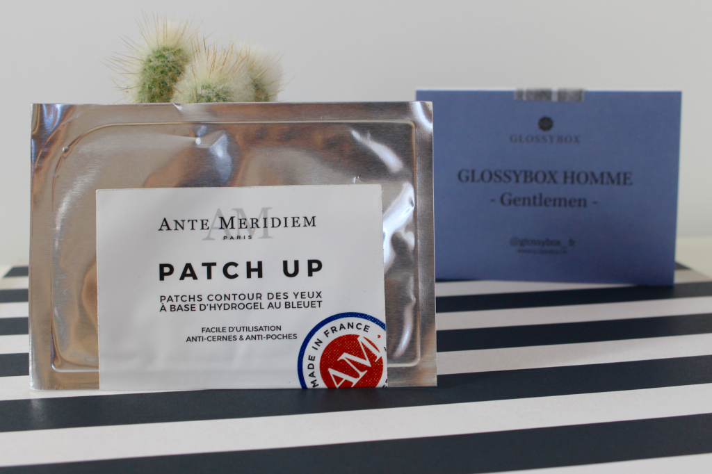 Glossybox Homme patch_mademoiselle-e