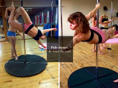 Pole dance presentation_mademoiselle-e