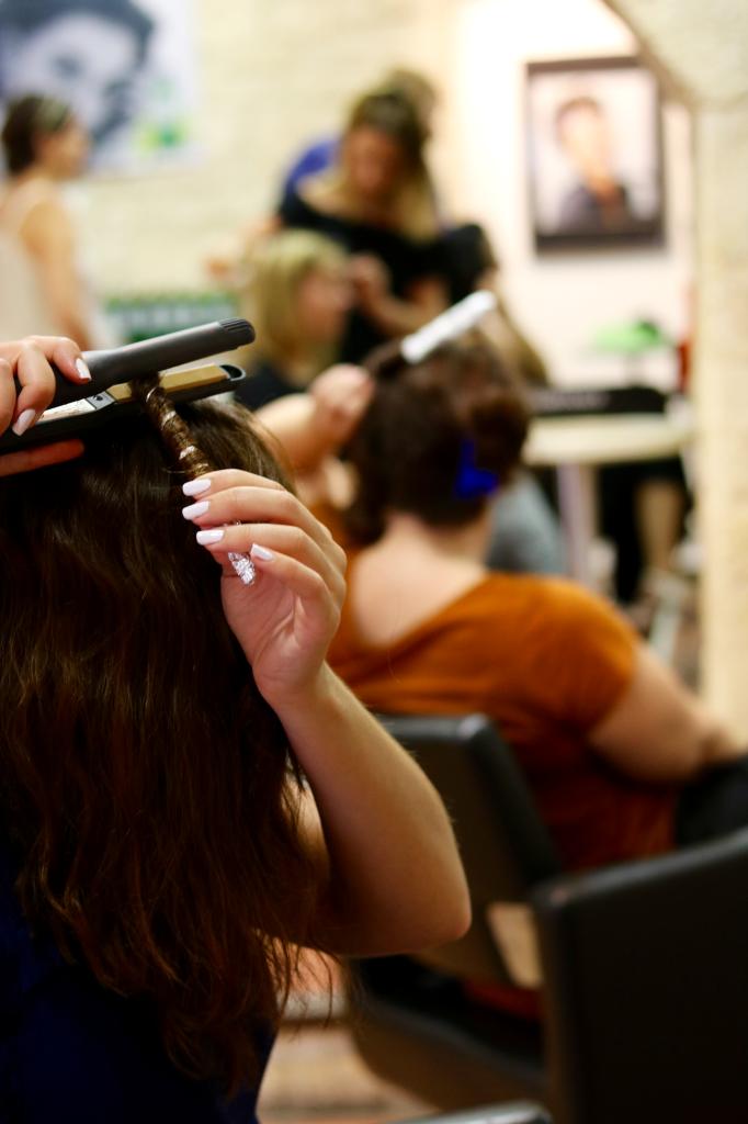 cours de coiffure technique 1 ça chauffe_mademoiselle-e