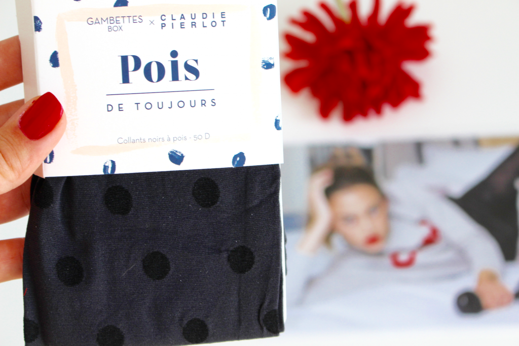 Gambettes box #Septembre 2016 Mademoiselle E - pois de toujours