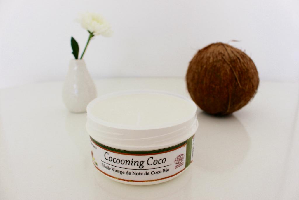 huile de coco cocooning coco mademoiselle e