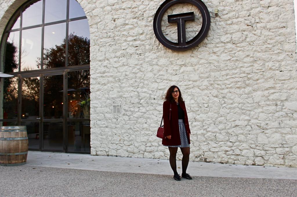 jupe en laine Terminal#1 mademoiselle-e