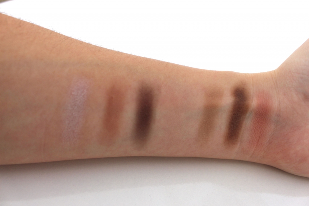 make-up Tarte palette swatch mademoiselle e