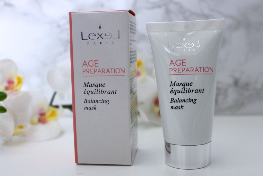 routine visage lexel masque equilibrant mademoiselle e