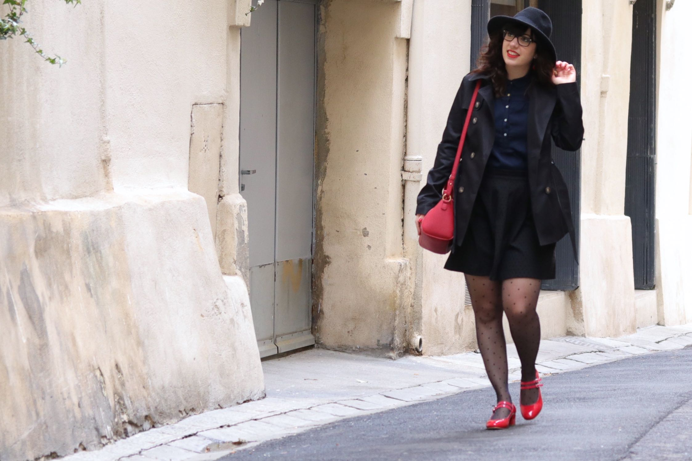 trench ouvert 3 mademoiselle E
