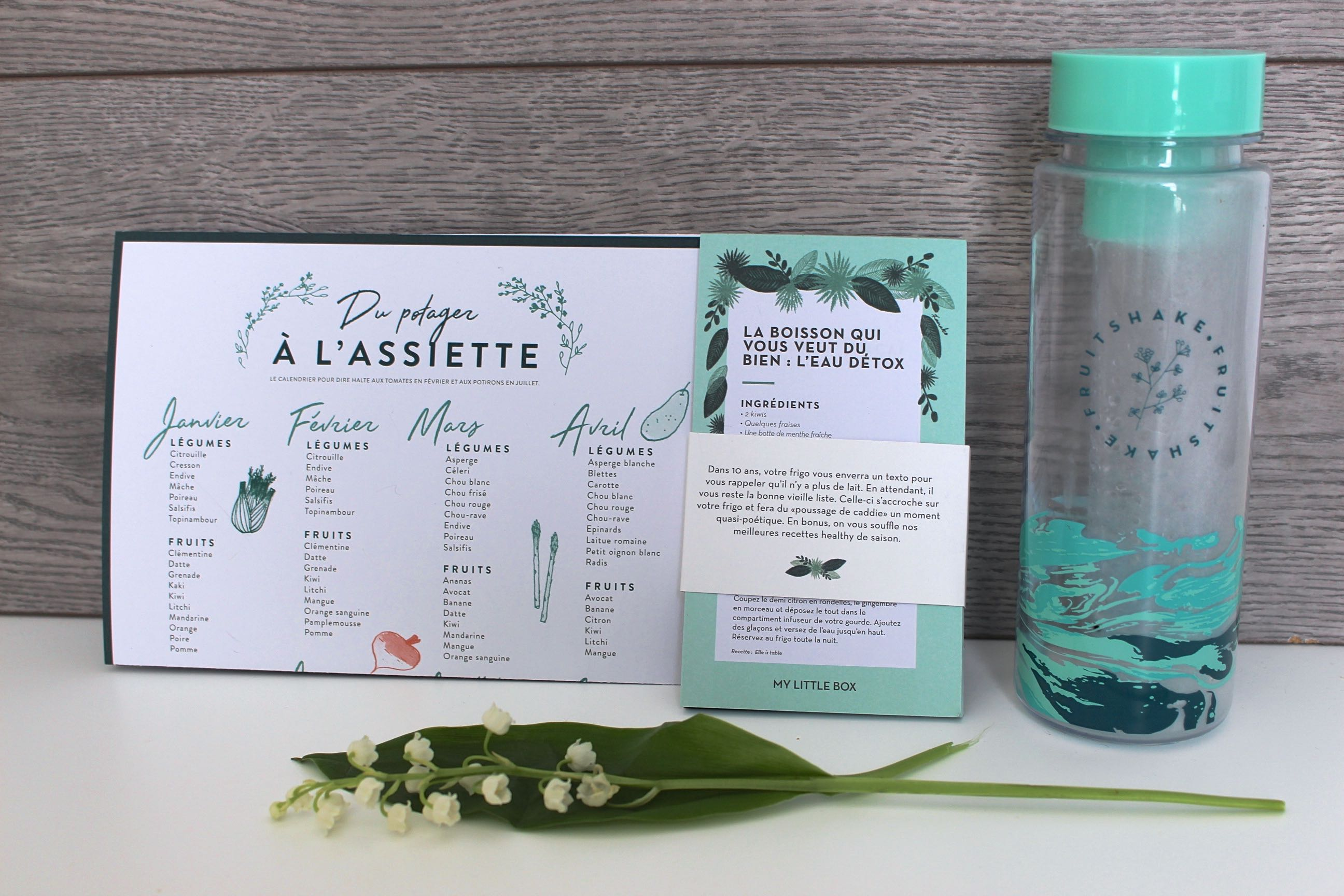 My Little box avril 2017 lifestyle mademoiselle-e