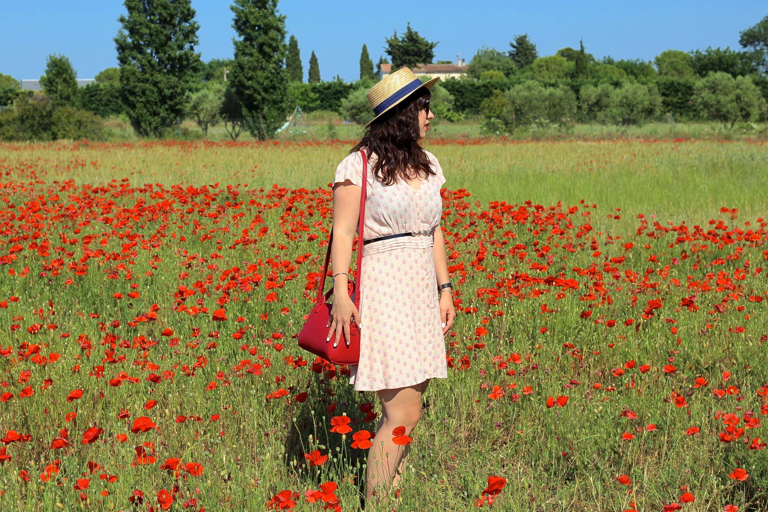 robe imprimée 5 mademoiselle e