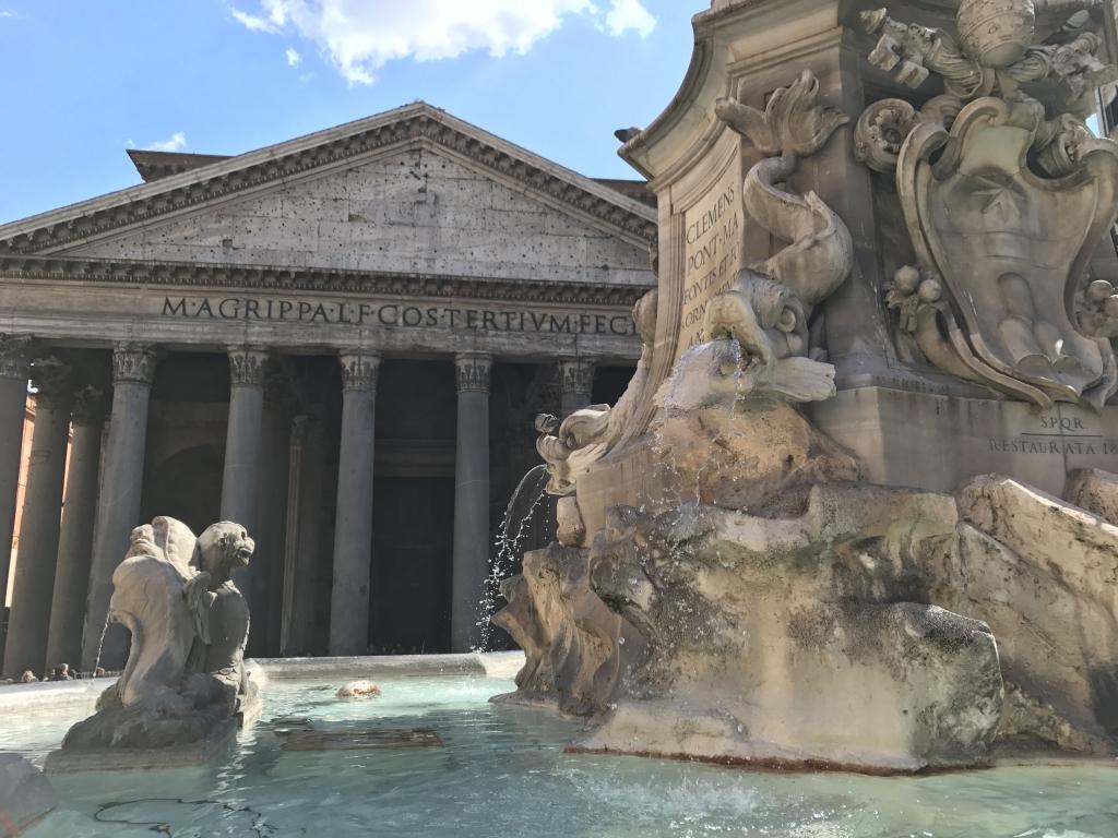 Rome city guide panthéon mademoiselle-e