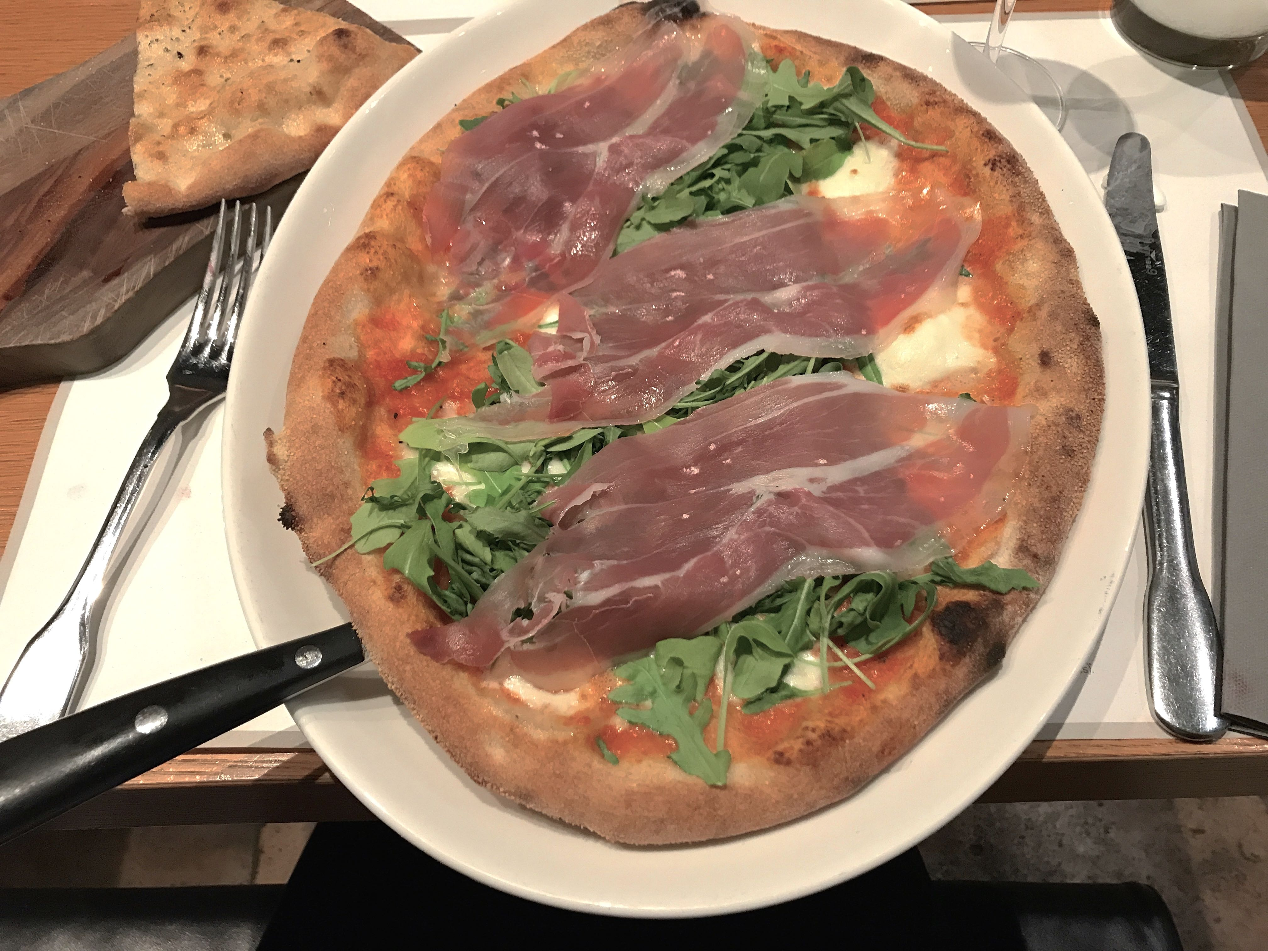 Rome city guide la pizza mademoiselle-e