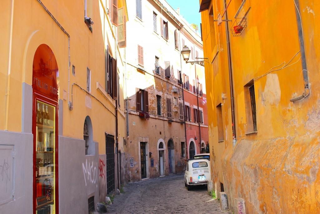 Rome city guide trastevere mademoiselle-e