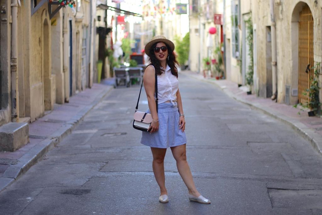 jupe rayée 18 mademoiselle-e