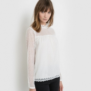 Blouse blanche mademoiselle R