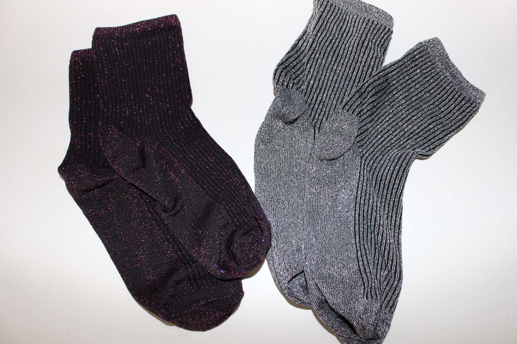 Barcelone – chaussettes paillettes