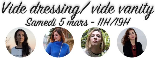 Vide dressing mars 2016