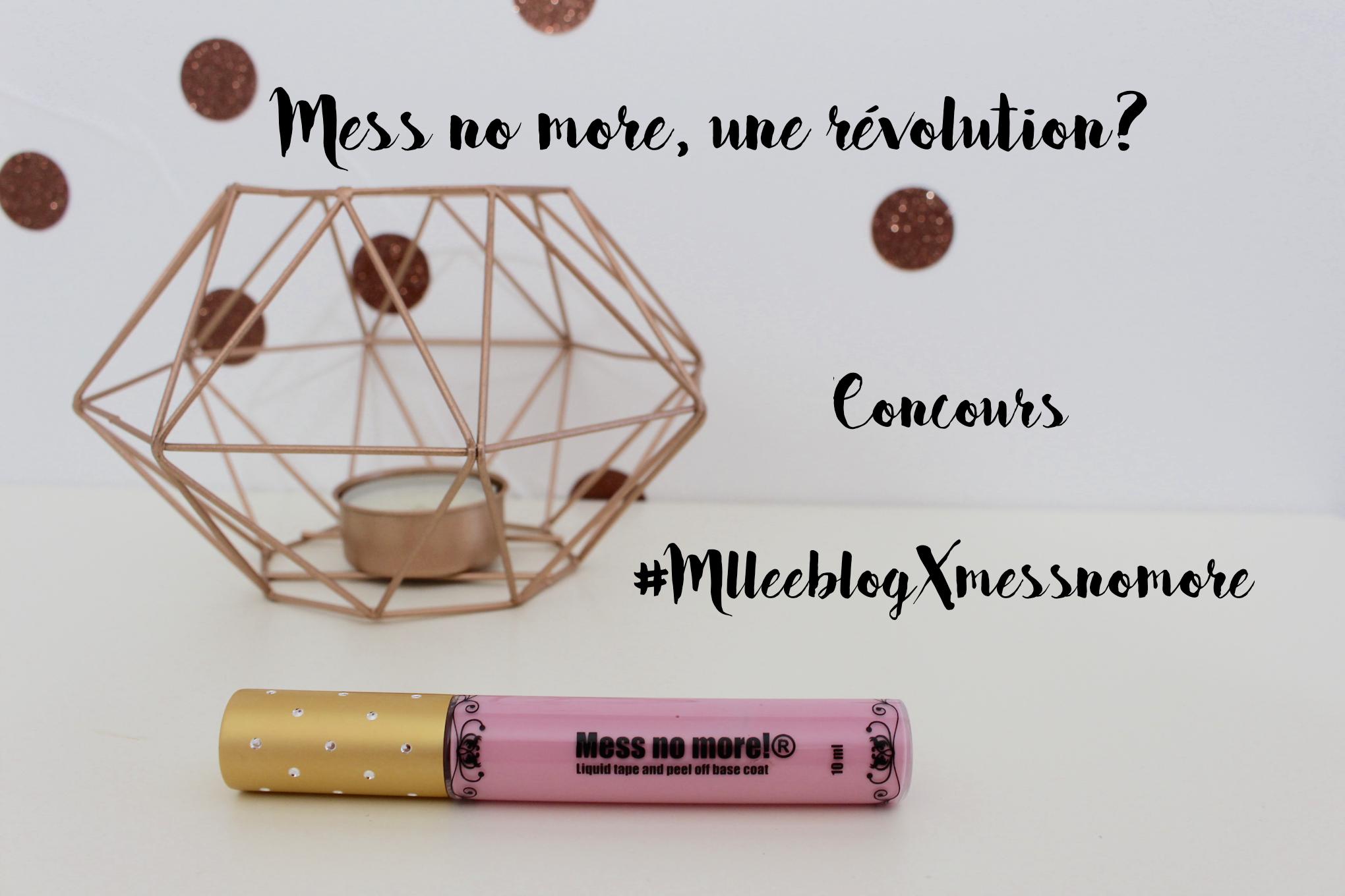 mess no more concours_mademoiselle-e
