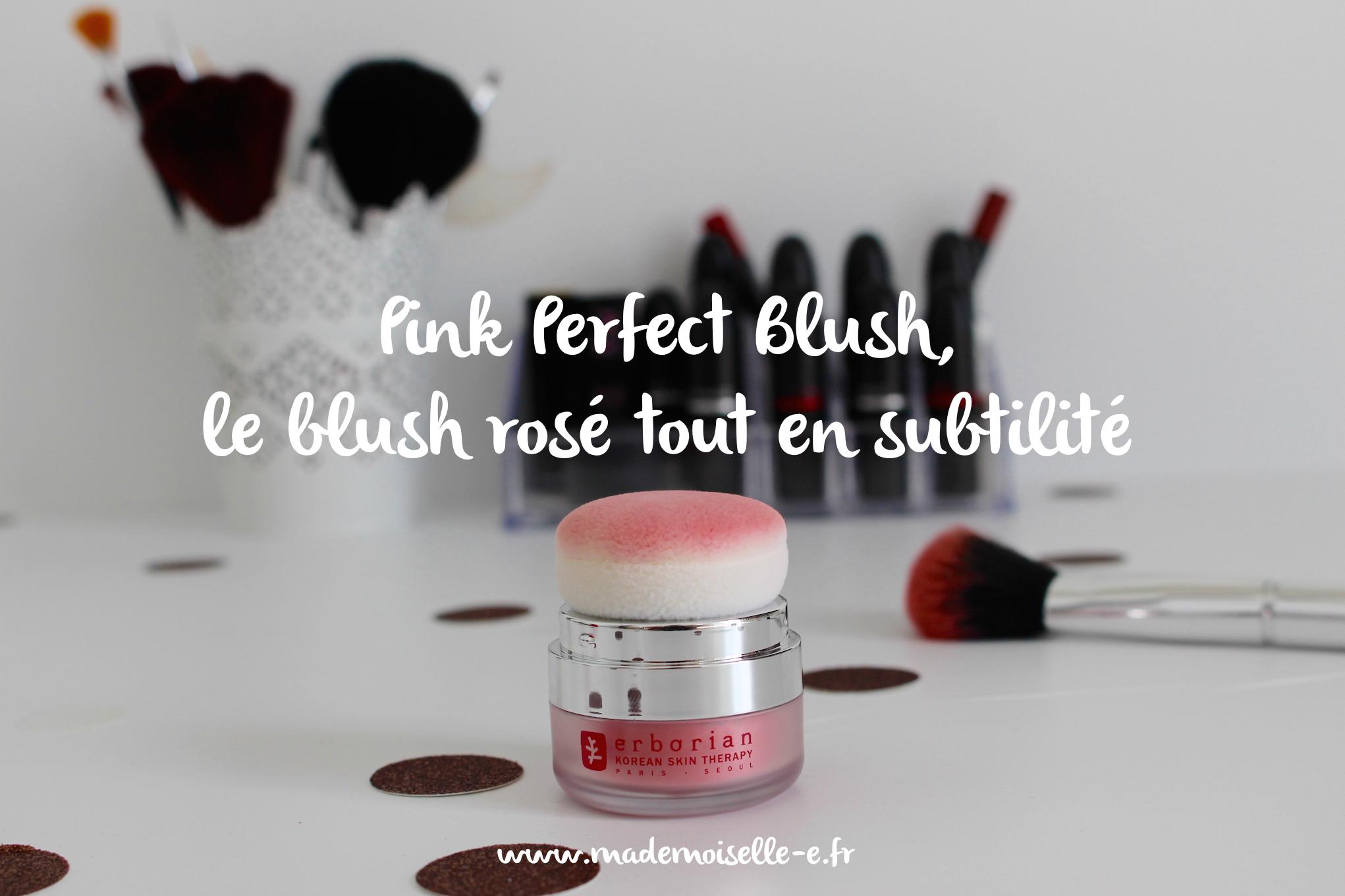 Pink Perfect Blush Mademoiselle E – presentation