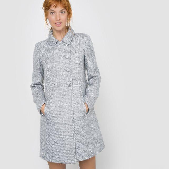 la redoute manteau gris mademoiselle-e