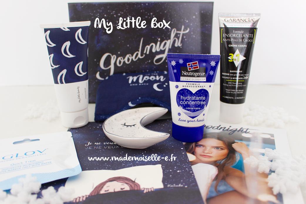 Goodnight Box presentation mademoiselle-e