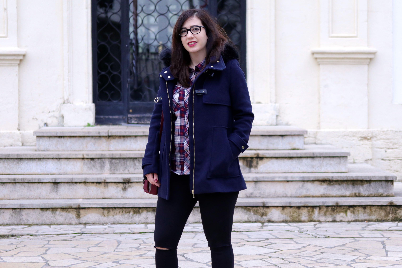 duffle coat look 2 mademoiselle E
