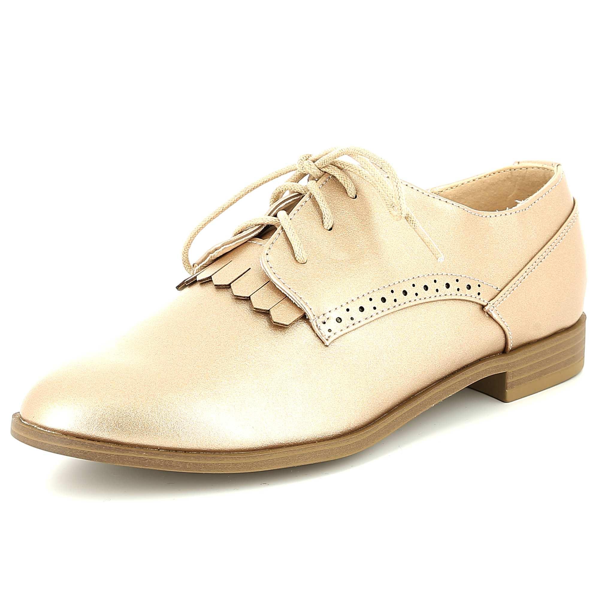 classic shoes coupon code shop best sellers chaussures-derbies-en-simili-rose-mademoiselle-e ...