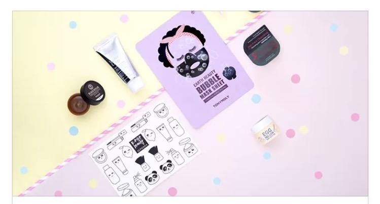 Sephora Box K pop le contenu mademoiselle-e