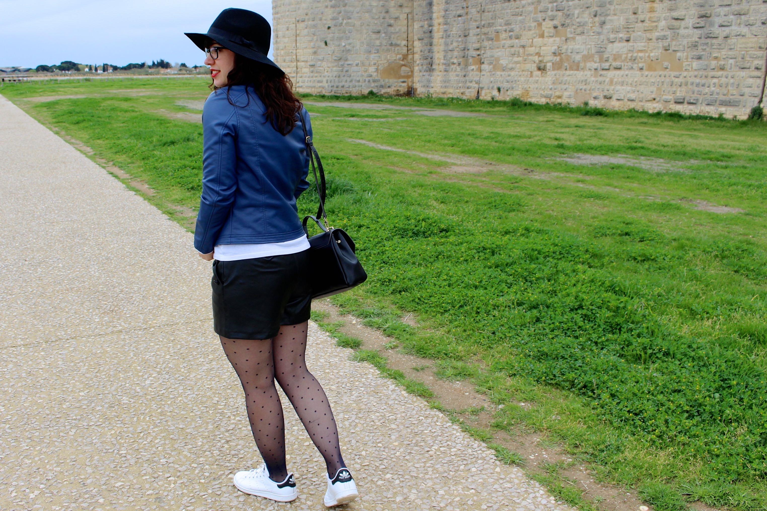 marinière short simili 1 mademoiselle e