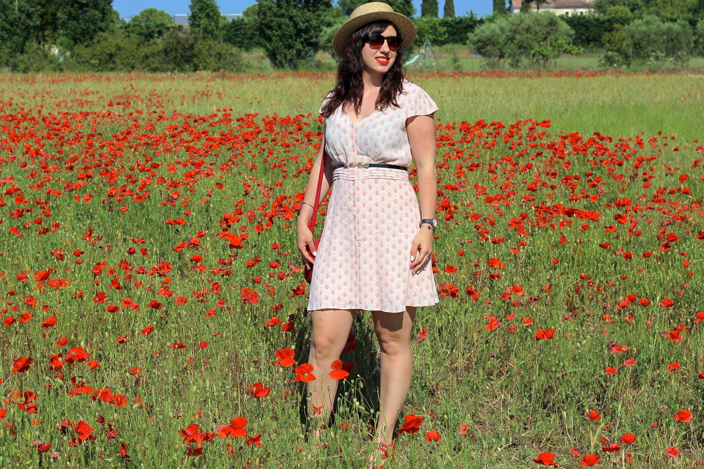 robe imprimée 2 mademoiselle e