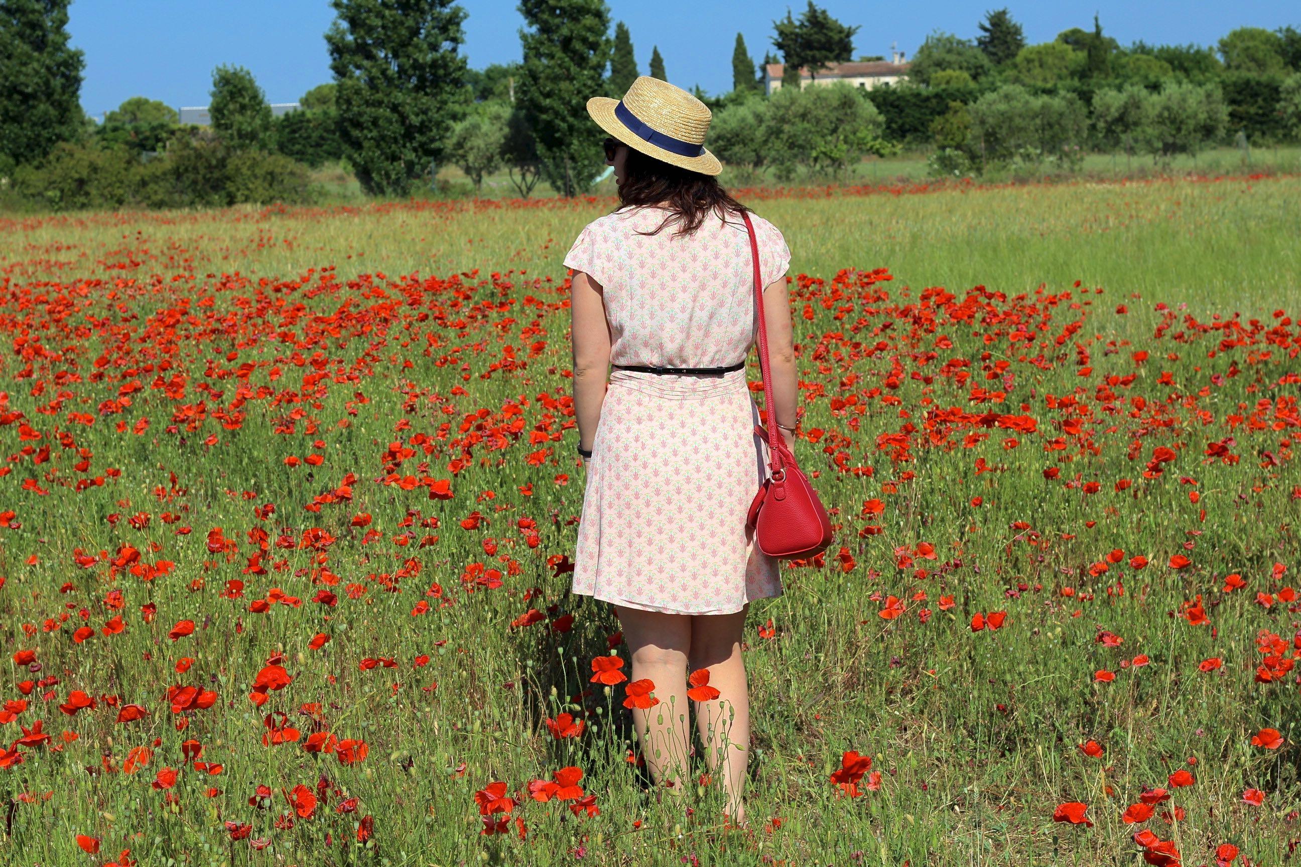 robe imprimée 7 mademoiselle e
