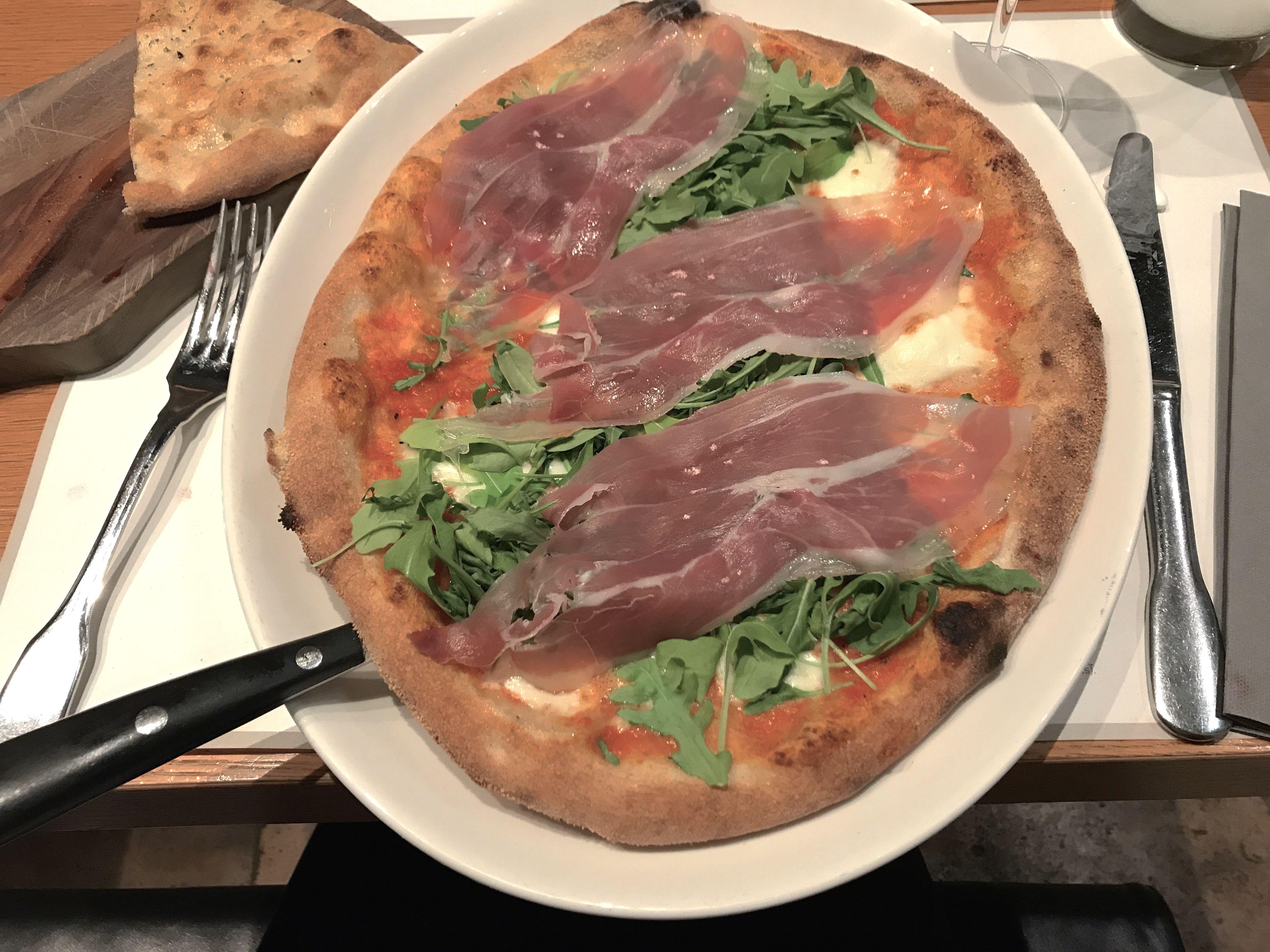 Rome city guide la pizza mademoiselle-e