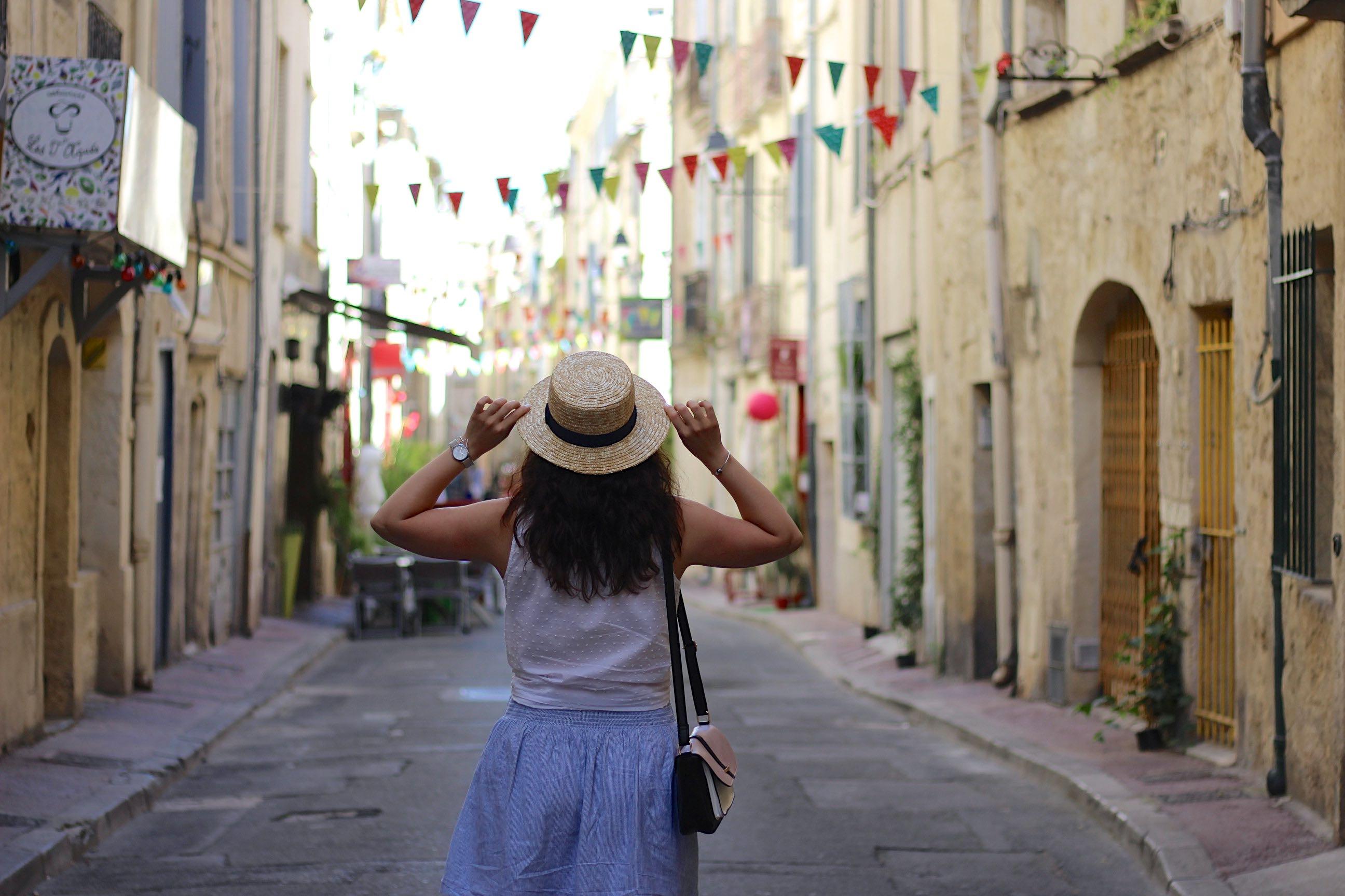 jupe rayée 10 mademoiselle-e
