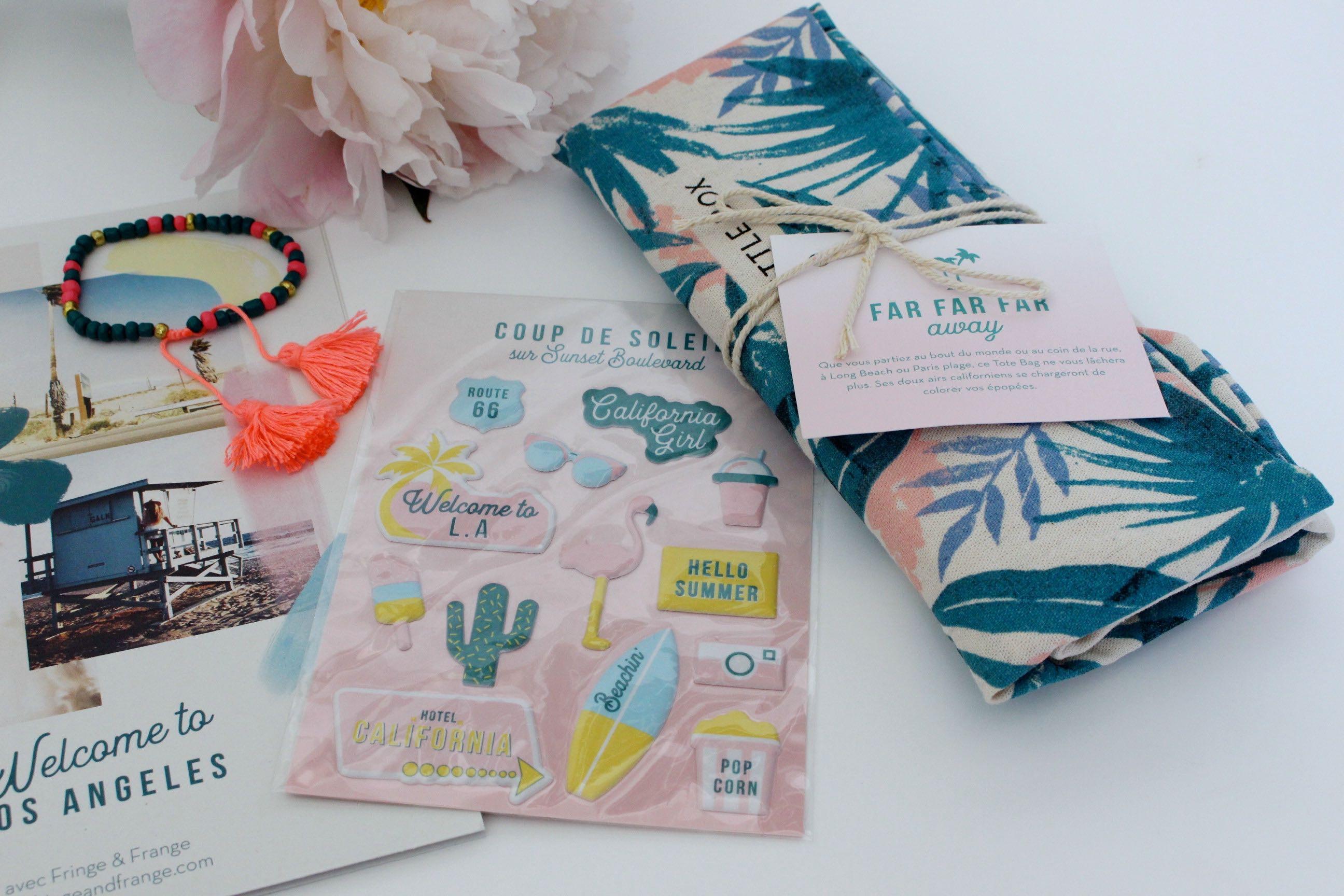 My Little box juin los angeles accessoires mademoiselle-e