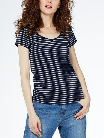 tee-shirt-imprime-col-rond–bleu-raye–femme-gh534_12_fr1