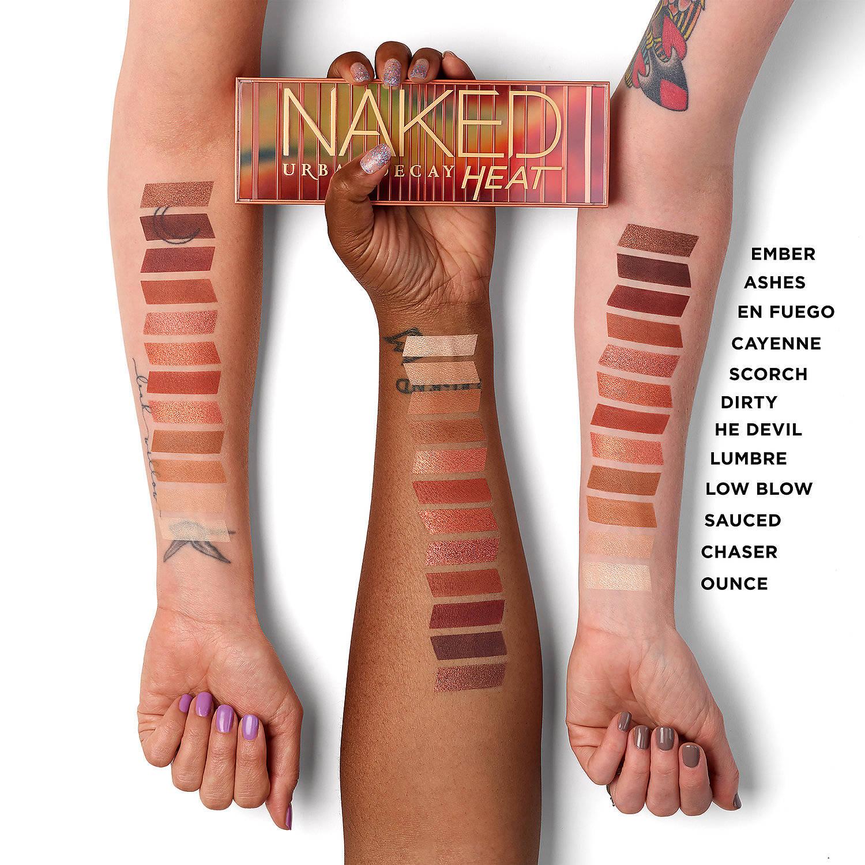 naked heat swatches code promo sephora mademoiselle-e