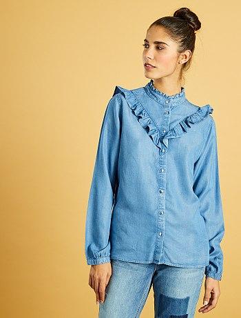 chemise-en-jean-volantee-stone-femme-vx420_1_fr3
