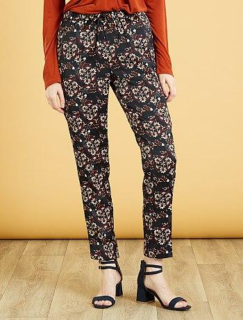 pantalon-confort-imprime-78eme-noir-imprime-femme-vo024_1_fr3