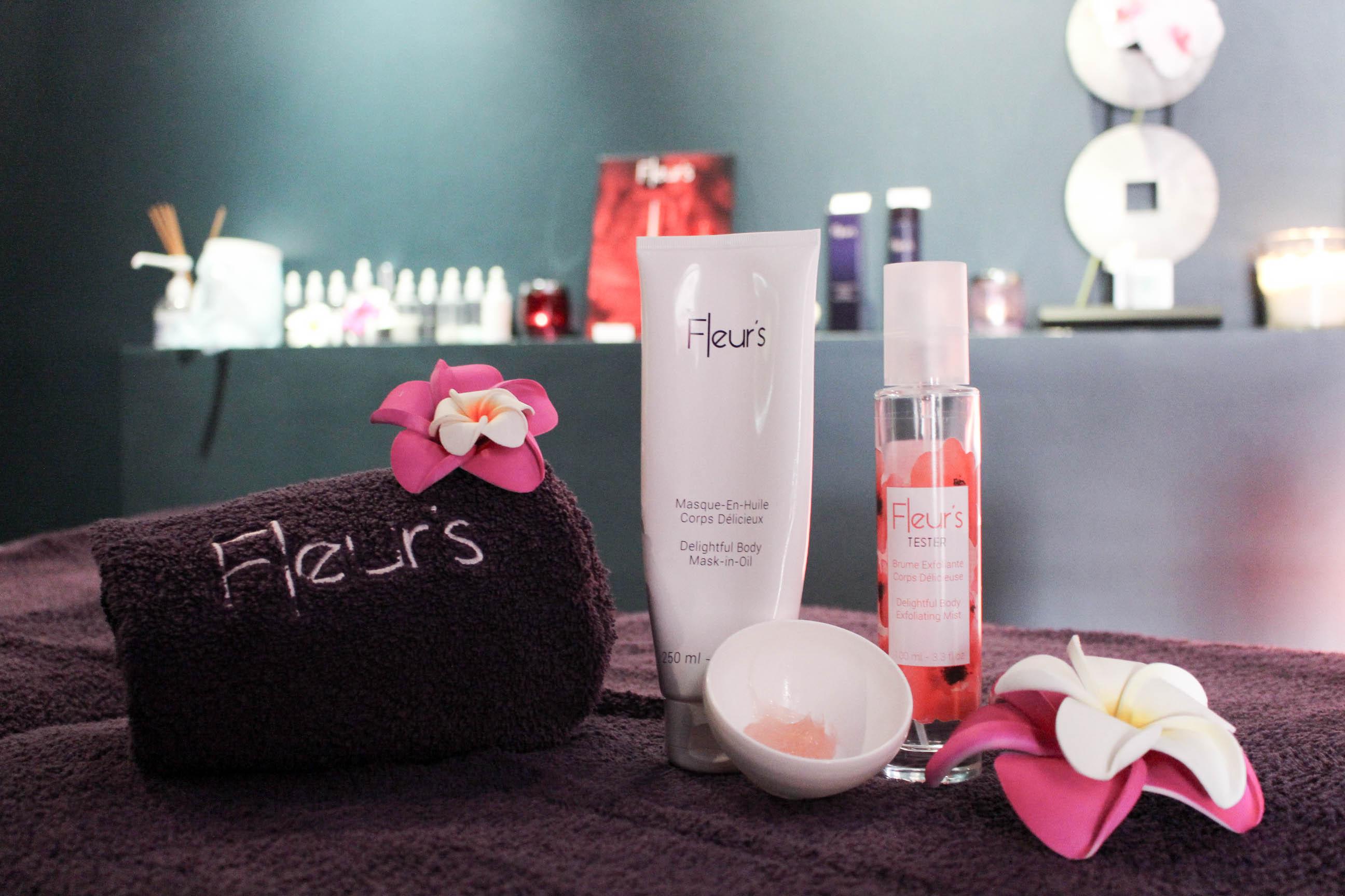 fleurs de soin castries institut massage produits fleurs rituel avis mademoiselle e