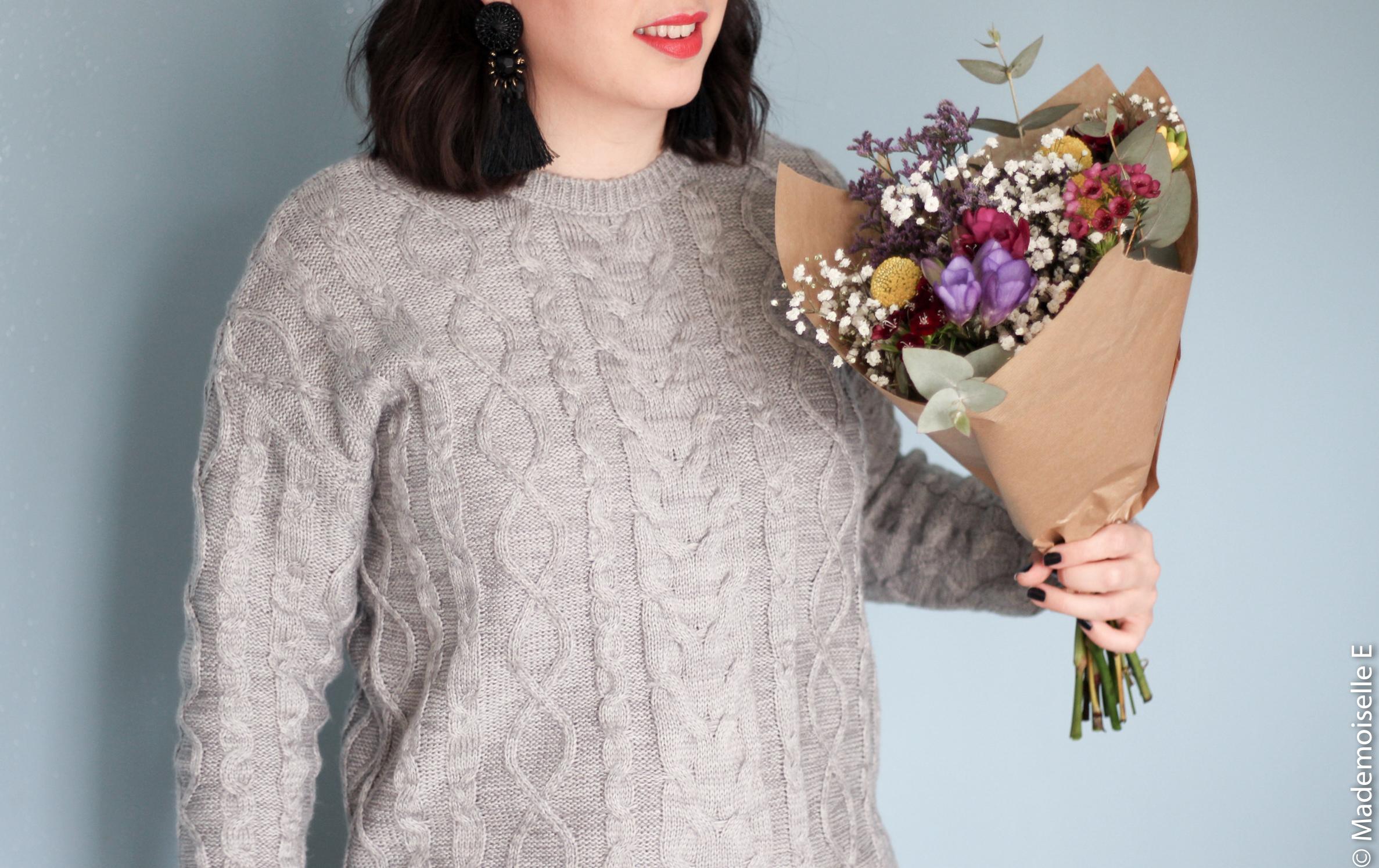 bonheurs #3 Marguerite Flowers Shop mademoiselle-e